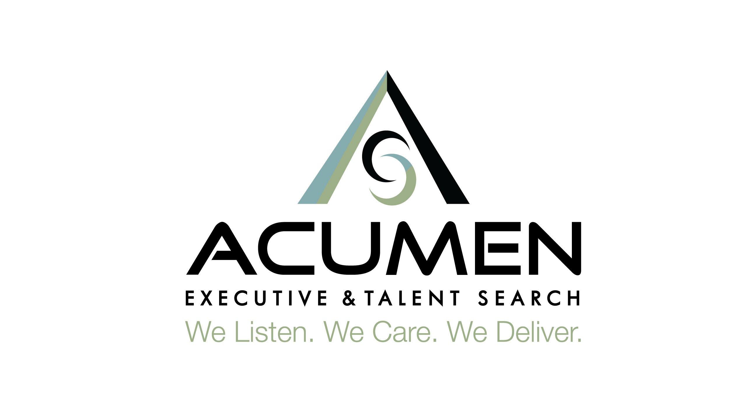 Acumen Facilitates Succession Plan at the Eleventh Hour